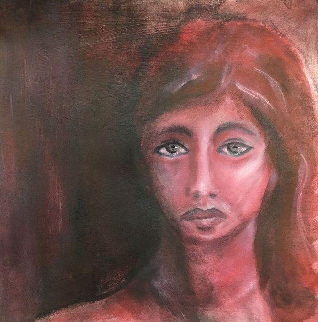 Face painting, Gesichter malen, meine Leidenschaft zur Zeit. Zeichnungen im Sketchbook mit Faber-Castell Graphite Aquarell & Bleistift oder wie in diesem Beispiel mit PanPastel und Acrylmedien nach Pam Carriker. - danielarogall.de