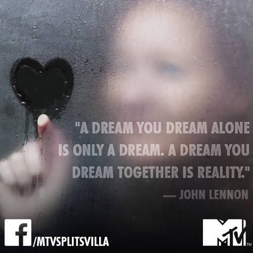 Enjoy viewing this photo The MTV Splitsvilla #Love #Quote of the day! on MTV Splitsvilla Channel in Tv show Category. This is a added photos by MTV Splitsvilla on Facebook and got 13395 likes and 1857 shares.