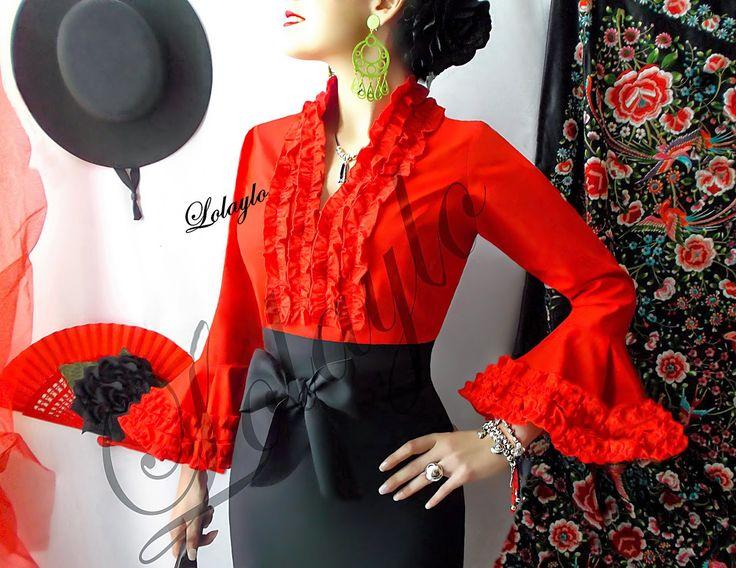 blusas de flamenca - Buscar con Google