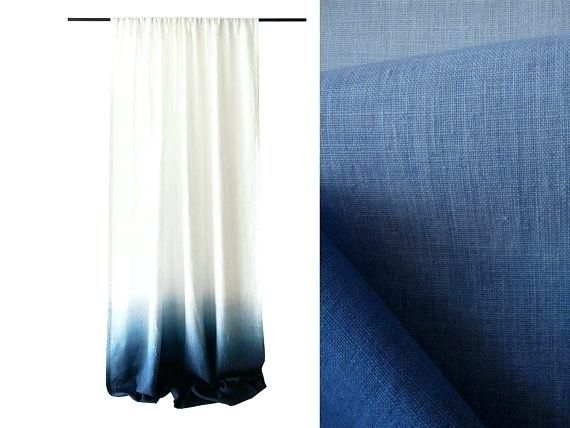 Blue Curtains Architects Blue Ombre Curtains Blue Curtains Navy