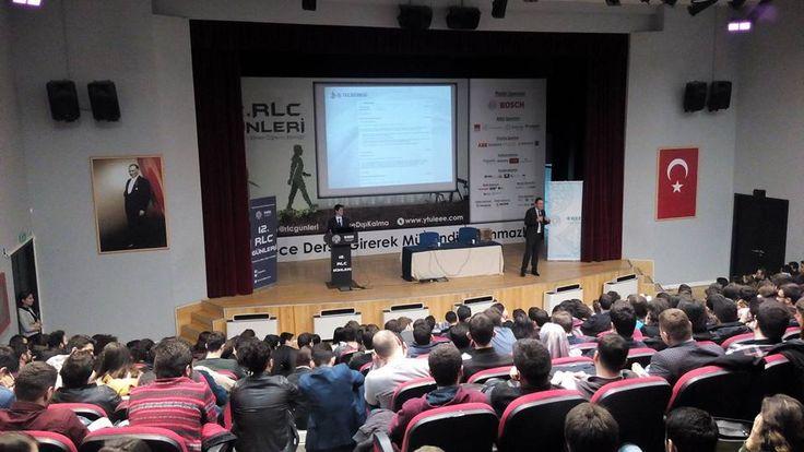 Yıldız Teknik Üniversitesi IEEE Öğrenci Kulubü tarafından her yıl düzenlenen RLC Günleri, bu sene de büyük ilgi gördü.