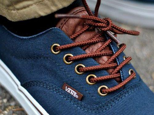 Vans Lace Up Tennis Shoes