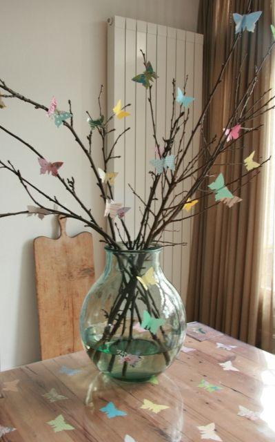 vlinder opzoek naar vrij zijn