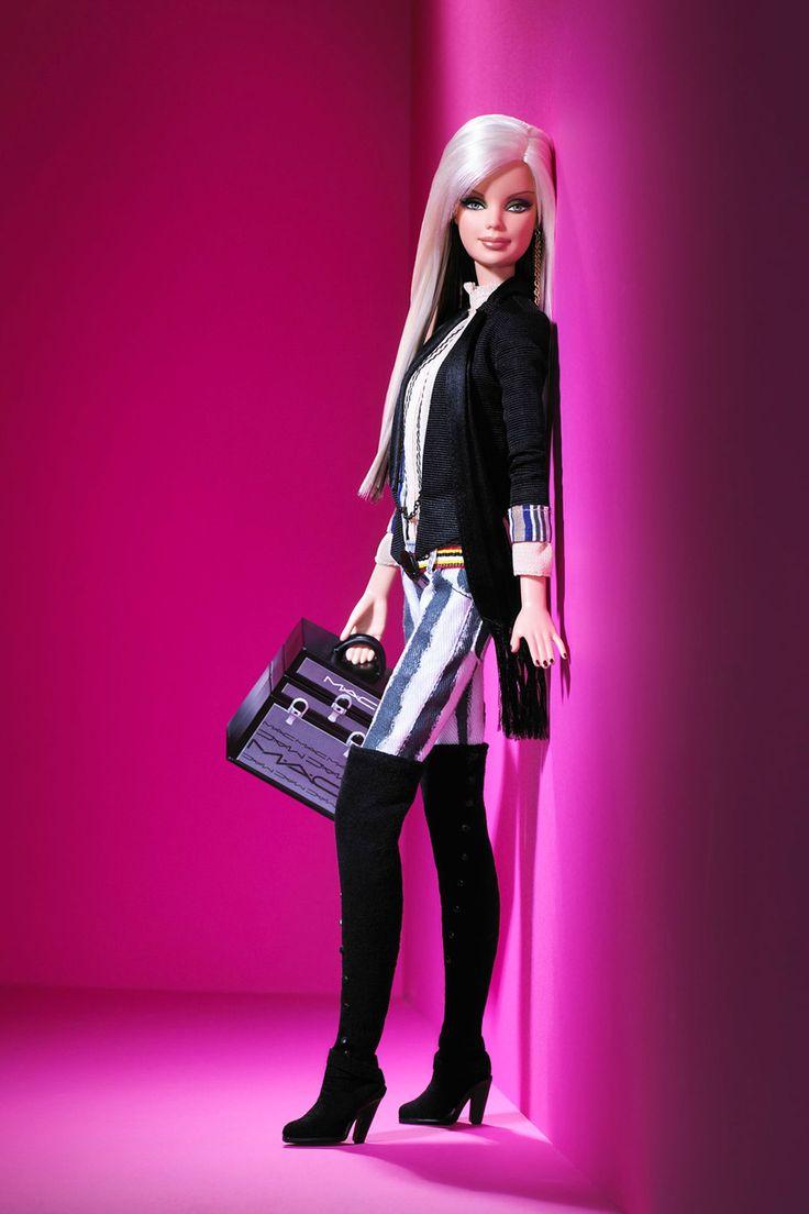 Barbie's designer fashion: from Dior to Burberry (Vogue.com UK) // BY MAC