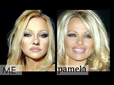Pamela Anderson Makeup Tutorial - YouTube