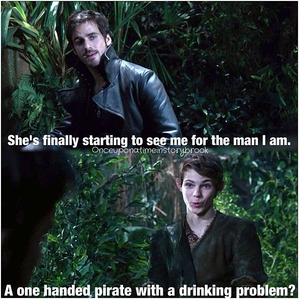a 1 Handed Pirate with a drinking problem
