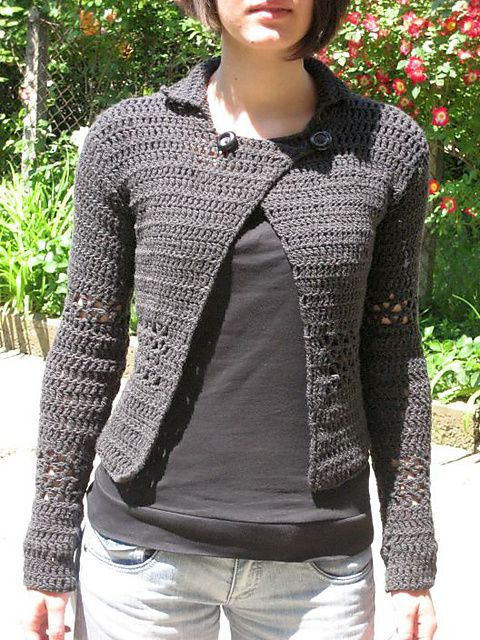 9 Best Crochet Cardigan Patterns Images On Pinterest Crochet