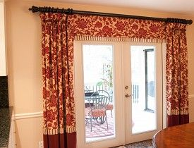 Best 25 french door curtains ideas on pinterest - How to hang interior french doors ...