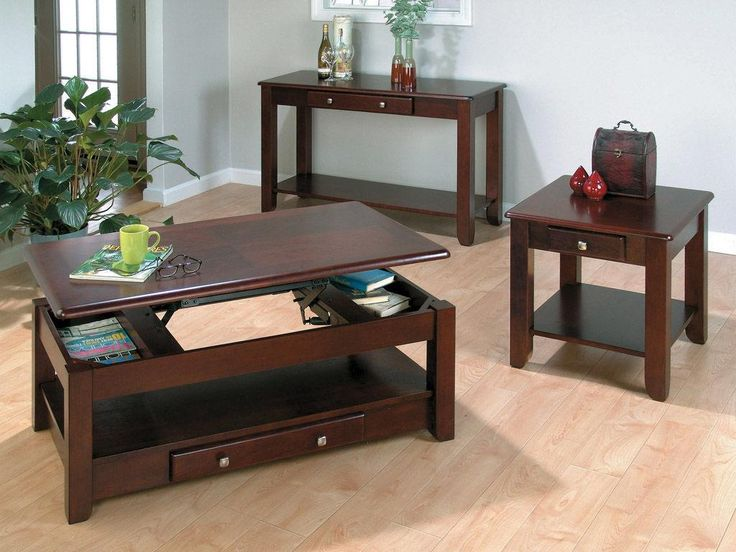 small living room tables. 5 Ideas For A Do It Yourself Coffee Table  Let s 25 best Lift Up images on Pinterest Cherry finish