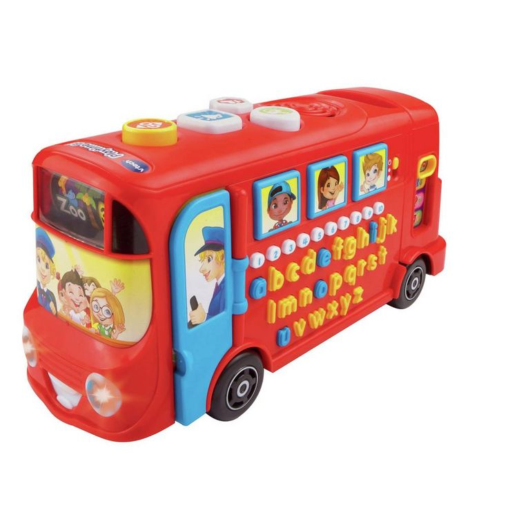 Buy Vtech Playtime Bus With Phonics Early Learning Toys