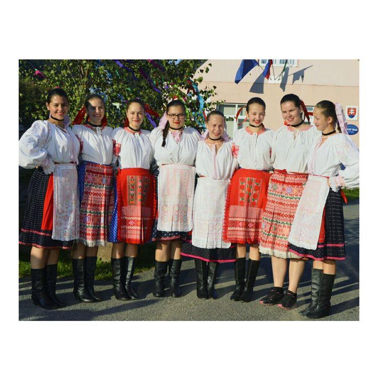 Slovakia traditionally costume (Horehron)
