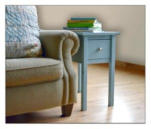 Classic Blue End Table Designs