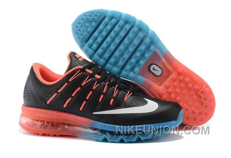 http://www.nikeunion.com/cheap-nike-air-max-2016-leather-black-orange-blue-new-release.html CHEAP NIKE AIR MAX 2016 LEATHER BLACK ORANGE BLUE NEW RELEASE Only $67.22 , Free Shipping!