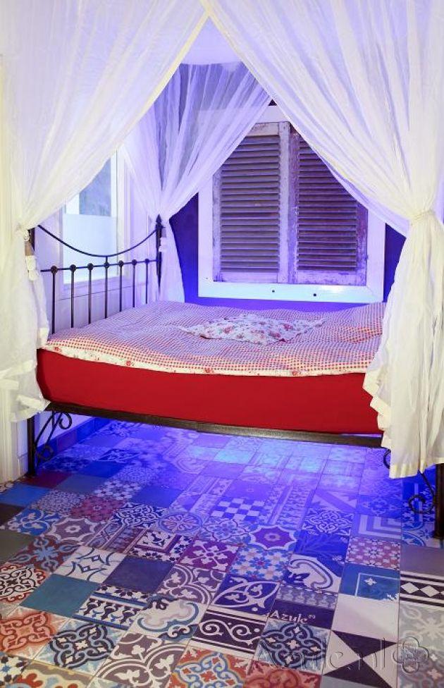 Cement tiles Bedroom - Patchwork Bonte Mix - Project van Designtegels.nl