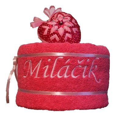 Uteráková torta Miláčik v ružovom