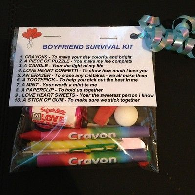 Boyfriend survival kit