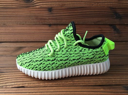 4a7bd552d Women Adidas Yeezy Boost 350 Low Poison Green Flash Lime
