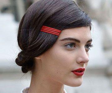 Snel en simpel: 5 x coole kapsels met een haarspeld