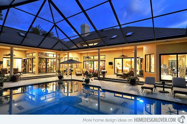 20 Amazing Indoor Swimming Pools | Home Design Lover