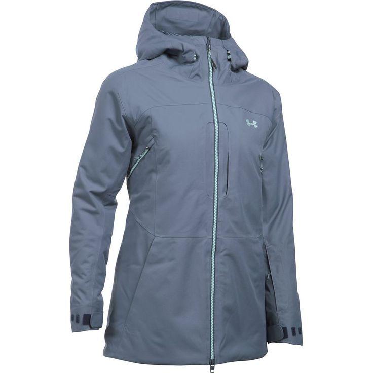 Under Armour - Coldgear Infrared Revy Jacket - Women's - Aurora Purple/Aqua Falls