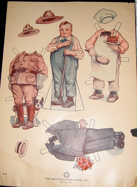 Fatty Arbuckle Paper Doll by Pennelainer, via Flickr