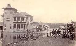 Woodlark Street, Lismore - 1892 Flood