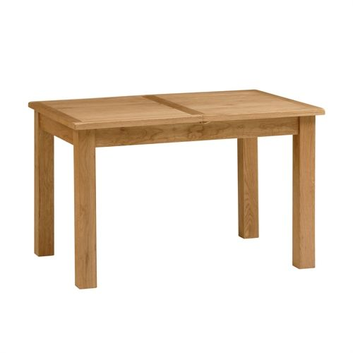 Lyon Petite Oak 120cm-165cm Extending Dining Table (P387) with Free Delivery | The Cotswold Company