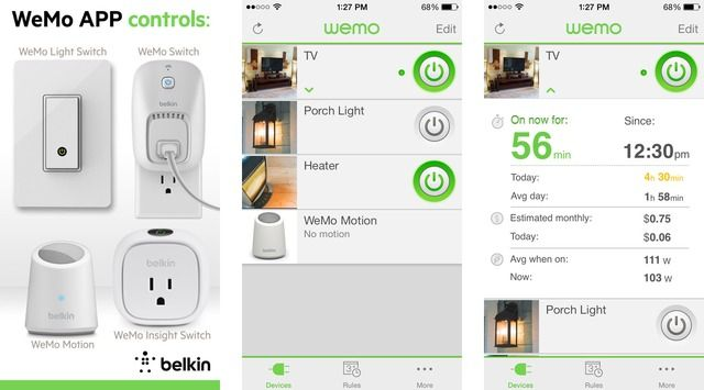 Belkin Announces WeMo App Update With New WeMo Light Switch Features - http://iClarified.com/40019 - Belkin has announced an updated version of its WeMo App for Android and iOS, that introduces new features for the WeMo Light Switch including a customizable long press gesture, enhanced sunrise/sunset rules, away mode setting, and programmable backlight dimming.