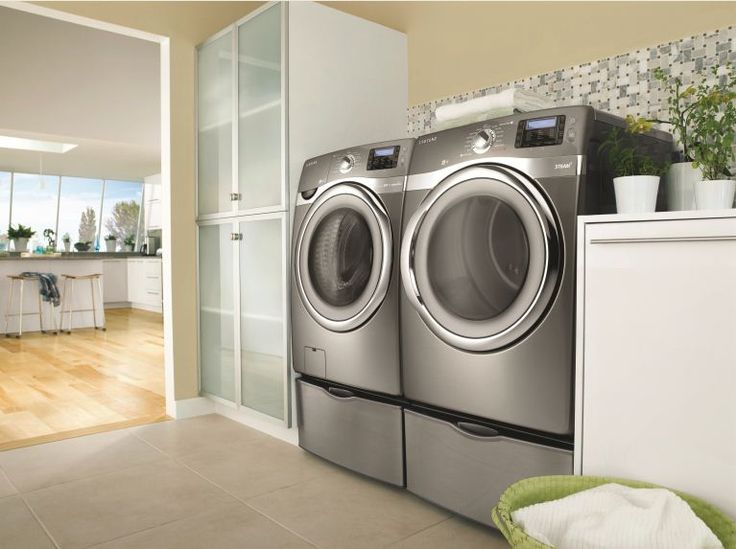 Follow us then pin a photo of your laundry room using #SamsungSpinCycle and you could win a new washer and dryer set from Samsung!