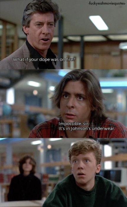 breakfast club. Definitely one of my all time favorites