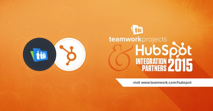 For all you marketing agencies out there; we've had something very exciting brewing over the last few months and have been longing to share it with you! Please put your hands together for the shiny new integration between Teamwork Projects and HubSpot