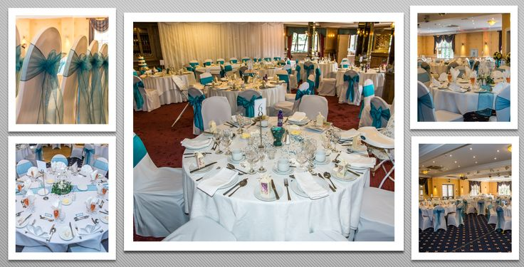 Turquoise colour schemed venue dressing. You can hire venue dressing like this at Natalija.Co Event Planning, find us on facebook, or visit our website, www.natalija.co.uk