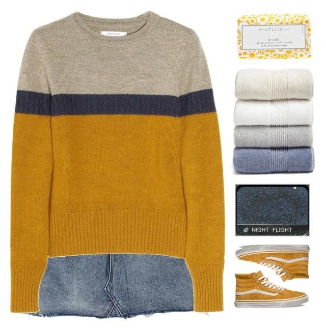 """""""「88.」"""" by moonbeam-s ❤ liked on Polyvore featuring Carven, Vans, Lollia, Nordstrom, Fall, finals, thanksgiving, friendsgiving and abbyvia"""