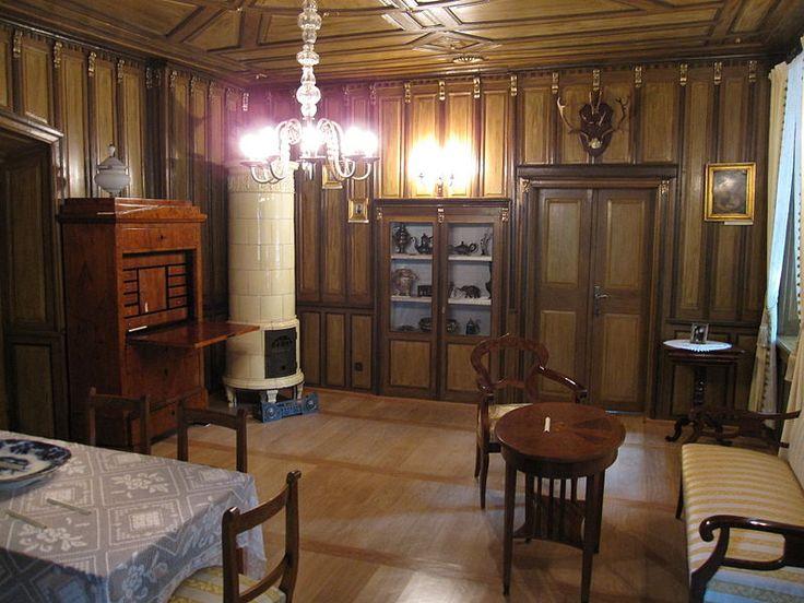 Interior Biedermeier Room In The Museum In Chrzan 243 W