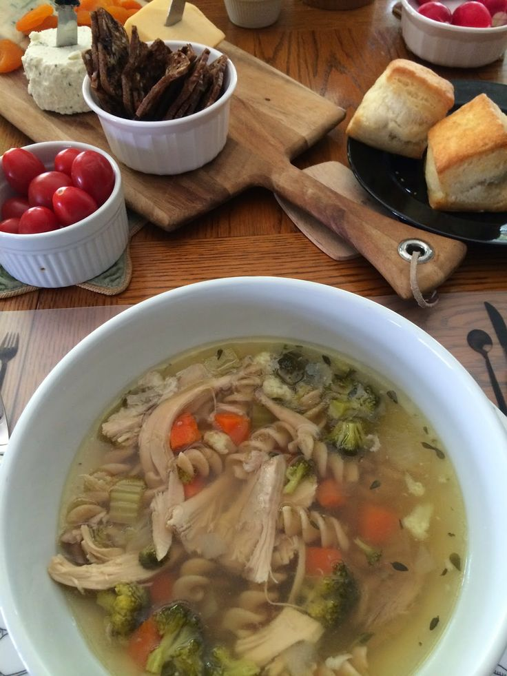 Clear Chicken SoupJust in Time for Passover Soup