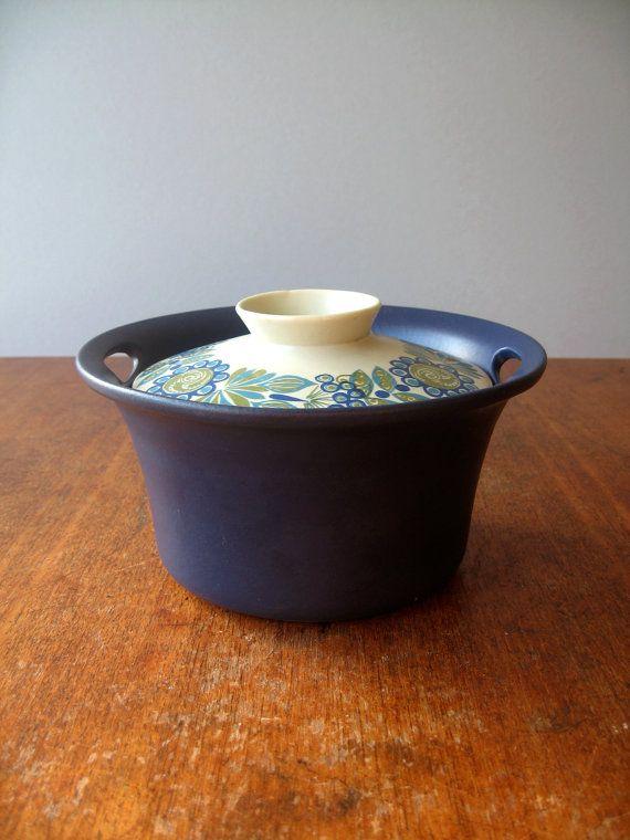 Scandinavian Modern Ceramic Figgjo Casserole / Tureen by luola, $30.00