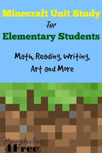 Laugh & Learn Linkup: Minecraft Unit Study