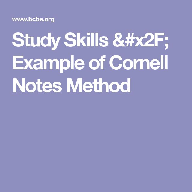 Best 25+ Cornell notes example ideas on Pinterest Cornell image - doctor note word