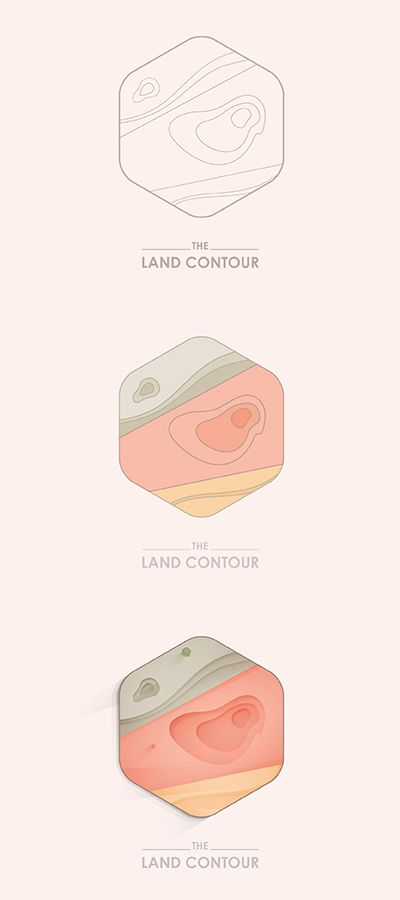 The Land Contour by Yoga Perdana
