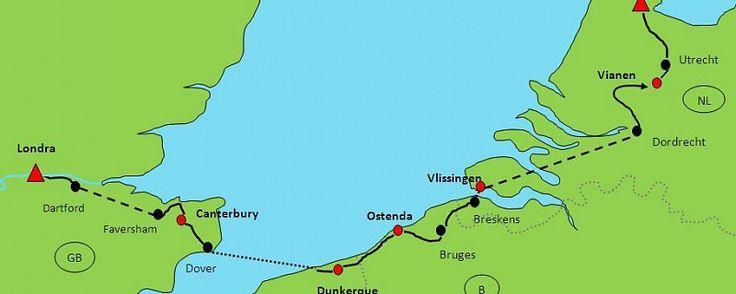 Из Лондона в Амстердам - велопробег