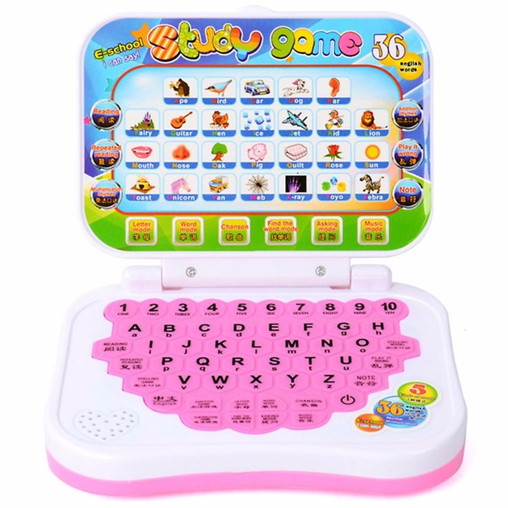 Language Learning Machine Education Toys Computers English Alphabet Pronunciation Computer For Kids Toy