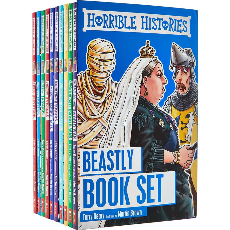 Horrible Histories Beastly Book Set - Books & Learning - Toys - Kids & Toys - TK Maxx