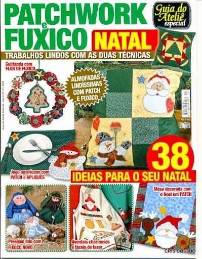 57 Guia do Atelie Esp.Patchwok e fuxico natal n. 12 - maria cristina Coelho - Picasa Web Album