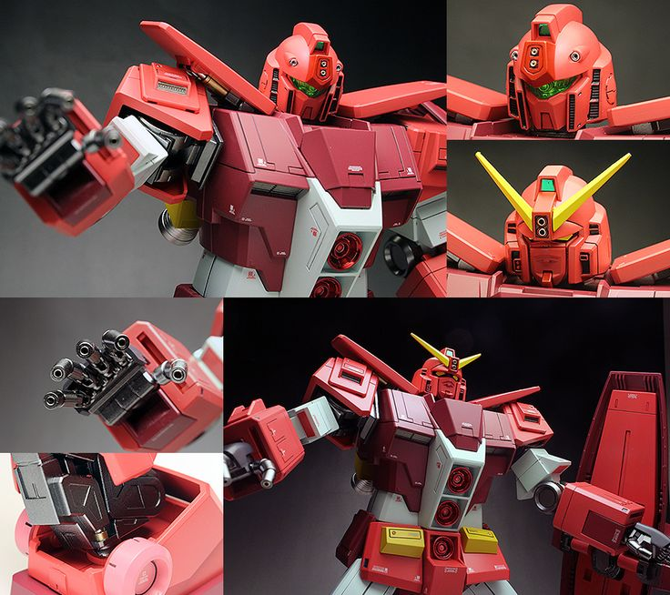 WORK REVIEW: P-Bandai HGBF 1/144 PSYCHO GM MIKIO MASHITA'S MOBILE ARMOR painted build Images http://www.gunjap.net/site/?p=330944