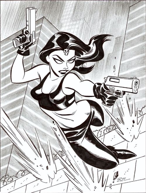 Mystique by Bruce Timm ★ || CHARACTER DESIGN REFERENCES (https://www.facebook.com/CharacterDesignReferences & https://www.pinterest.com/characterdesigh) • Love Character Design? Join the Character Design Challenge (link→ https://www.facebook.com/groups/CharacterDesignChallenge) Share your unique vision of a theme, promote your art in a community of over 25.000 artists! || ★
