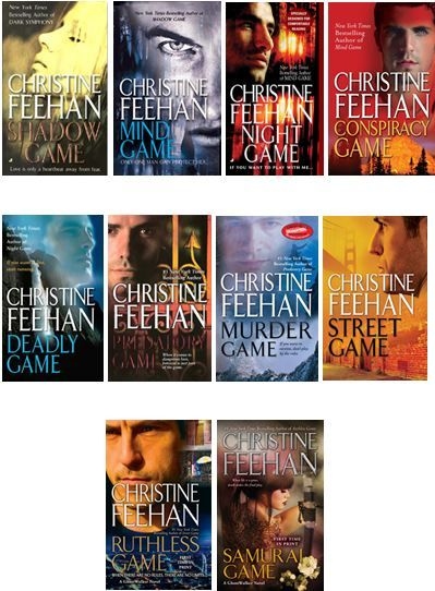 Ghost Walkers series by Christine Feehan  This series is awesome. It just keeps getting better and better.