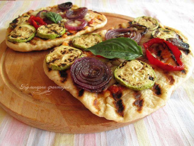 Пица на скара/ Grilled Pizza