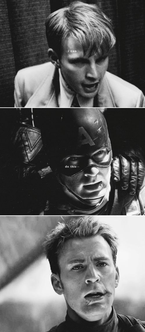Captain America: I can do this all day