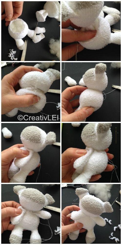 How to Make a Sock-doll Sheep
