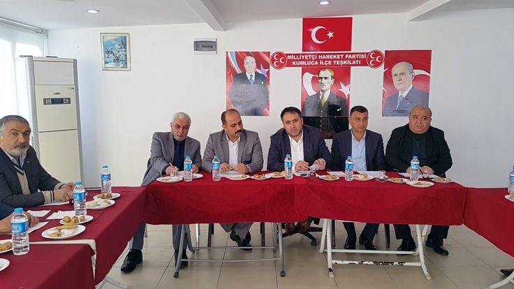 MHP'Lİ BAŞKANLAR KUMLUCA'DA TOPLANDI.